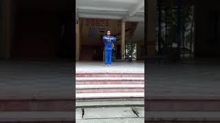 Nữ sinh 12 múa Quyền- võ vôvinam THPT Thống Linh