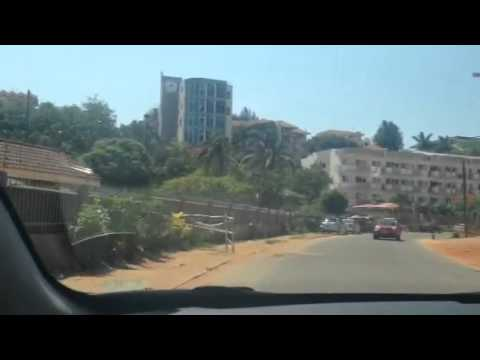 Driving around Maputo, Mozambique 2