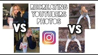 Recreating Youtubers Instagram Photos (Logan Paul, Alissa Violet, Jennxpenn, Etc..)