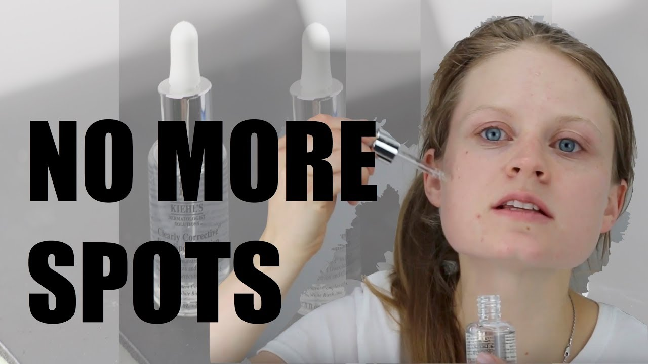 Kiehl S Clearly Corrective Dark Spot Solution Review Youtube