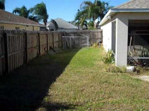 3817 Sunbeam Court back yard MLS #55714 in Merritt Island, FL
