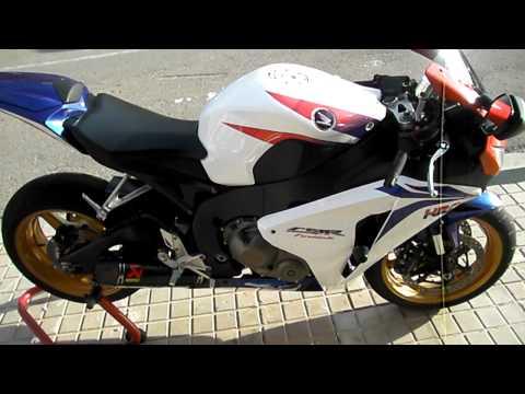 Honda CBR 1000 RR HRC sound Akrapovic