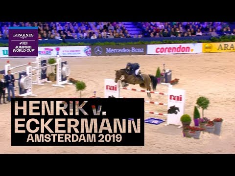The crowd goes ballistic here in Amsterdam! #Throwback | Longines FEI Jumping World Cup™
