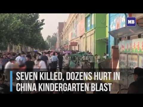 Seven killed, dozens hurt in China kindergarten blast