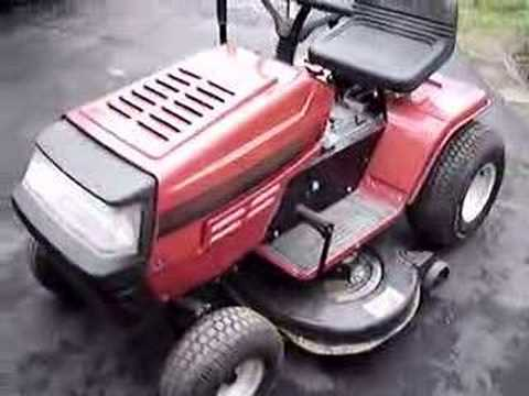 Springtime Startup of MTD Yard Machines Tractor  YouTube