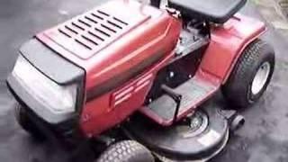 Springtime Startup of MTD Yard Machines Tractor