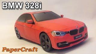 BMW 328i PaperCraft