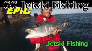 Gopro Jetski Fishing New Zealand Hauraki Gulf and Auckland West Coast