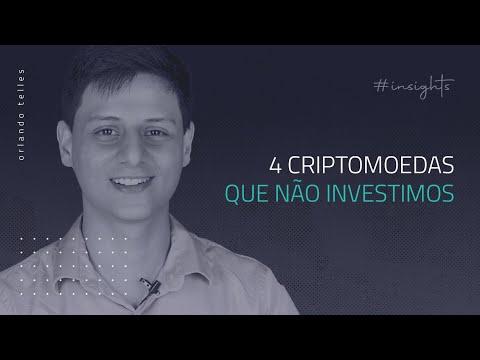 4 Criptomoedas que Nunca Investiríamos