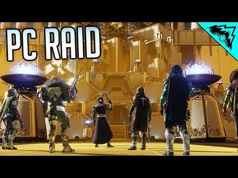 Destiny 2 PC Raid FINALLY - Leviathan Raid