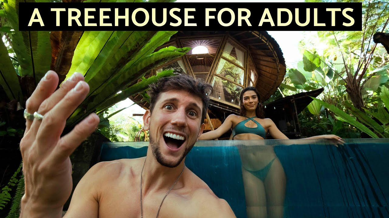 We stayed at Bali's MOST FAMOUS AirBnB (Hideout Bali)