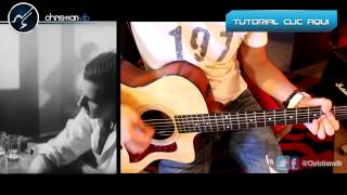 La Union - LOBO HOMBRE EN PARIS -  Guitarra Acustico Cover Demo Christianvib