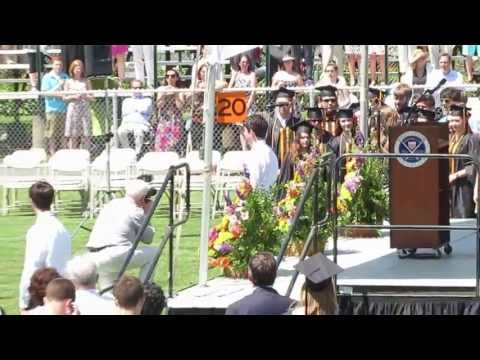 Angie Miller at Beverly High School Graduation