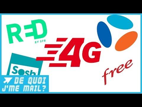 La bataille des forfaits 4G est relancée : comment choisir ? DQJMM (1/3)