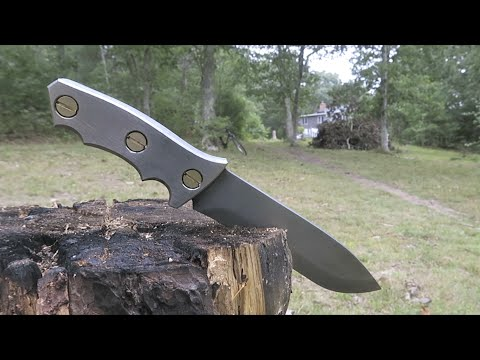 Damascus Knife Charity Build.