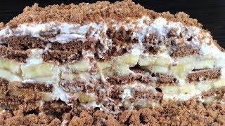 Торт из ТРЕХ ингредиентов. Рецепт на скорую руку!