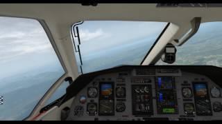X-Plane 11 -- Pilatus PC-12 -- St. Gallen (LSZR) ➡ Zurich Int. (LSZH)