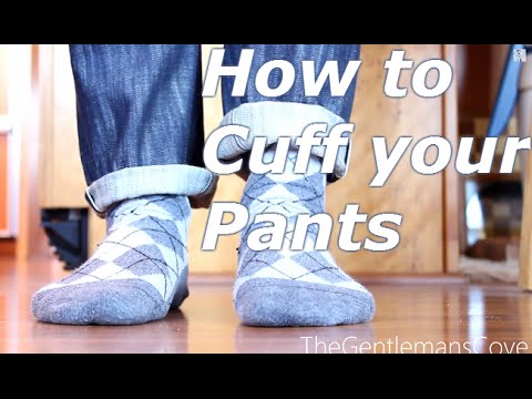 How to cuff pants | Pin-roll Cuff and Classic Cuff
