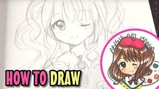 Drawing Anime Girl (real time)