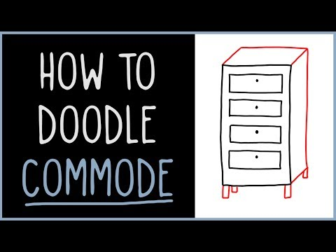Learn How to Doodle a Commode (drawing tips)