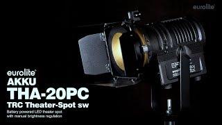 EUROLITE AKKU THA-20PC TRC Theater-Spot sw