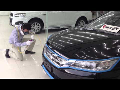 Quartz FX เคลือบแก้วระบบพ่น New Honda Accord @newtechnic หาดใหญ่