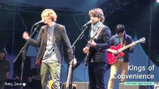 Kings of Convenience @ 2013 Seoul Jazz Festival - [I'd rather Dance With You]