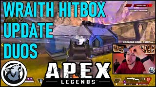 WRAITH HITBOX CHANGED CAN YOU TELL? VISS APEX LEGENDS SEASON 4