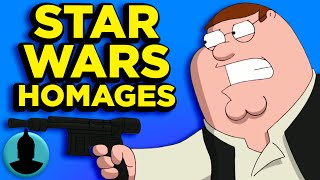 Family Guy, South park, Samurai Jack & More Homages To Star Wars - (ToonedUp #138) ChannelFrederator