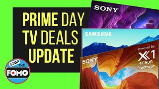 Updated TV Deals Prime Day: the Best TVs Discounted!