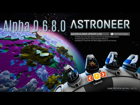 Astroneer 0.6.8.0 #102 Heading to a new planet
