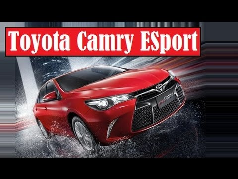 All New Camry 2018 Thailand Hybrid Toyota Esport Officially Launched In Exclusive Youtube