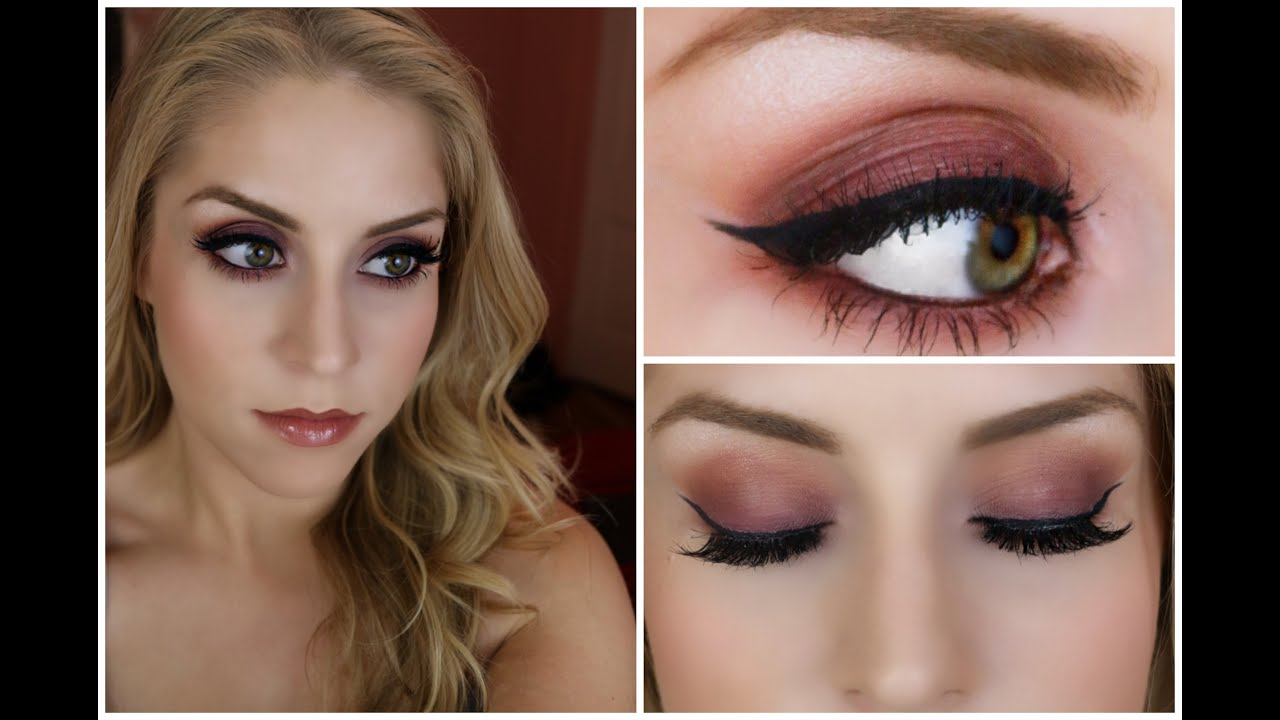 Tutorial Purple And Orange Smoky Eye Morphe 35n Palette Youtube