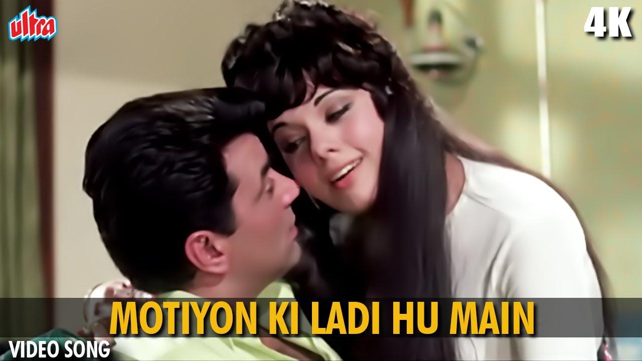 मोतियों की लड़ी हूँ मैं : Motiyon Ki Ladi Hoon Main   4K Video Song   Asha Bhosle  Dharmendra, Mumtaz