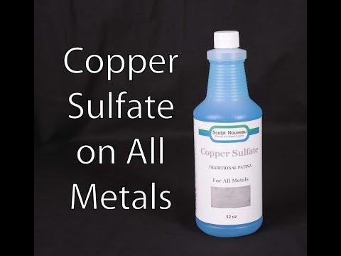 Copper Sulfate on all metals