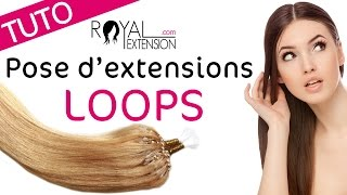 Extensions micro loops RUSSIAN HAIR 1g video
