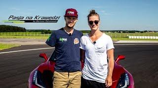 Natalia Partyka Bartek zapyta jak to jest być mistrzynią w Corvette C7  Pasja na Krawędzi