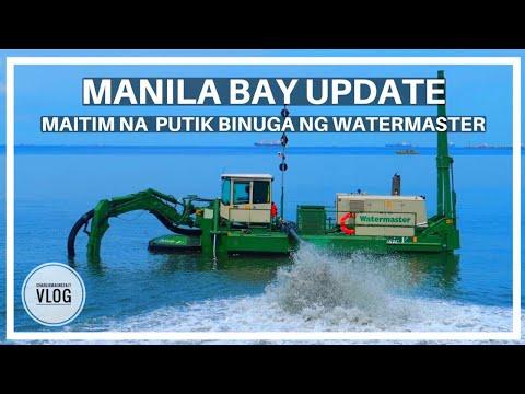 DREDGING IN ACTION    MANILA BAY MAS LALO PANG GUMANDA     vlog# 56