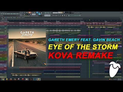 Gareth Emery Feat. Gavin Beach - Eye Of The Storm (Stadiumx Remix) (FL Studio Remake + FLP) Mp3