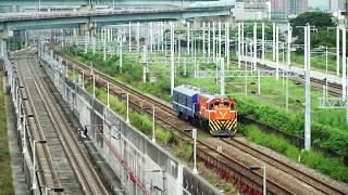 2018.09.18 高雄機廠通勤列車7213次通過(新左營站 - 左營站)