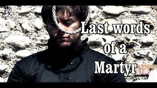 The Last Moments and Words of a Martyr, St  Polydore Plasden, December 10th 1591   trailer