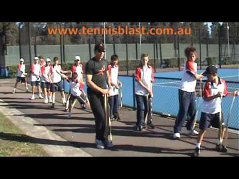 Free trial Tennis Blast Fitness App www.tennisblast.com.au/app2