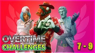 Fortnite Overtime Challenges Guide - Challenges 7 - 9 Free Season 8 Battle pass