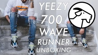 YEEZY 700 UNBOXING (GIVEAWAY) | Wave