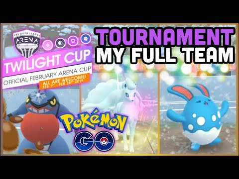Twilight Cup Tournament & my full team in Pokemon GO thumbnail
