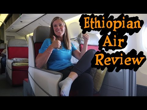 ETHIOPIAN AIRLINES BUSINESS CLASS FLIGHT REVIEW