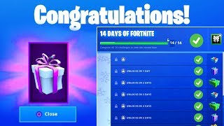 14 Days of Fortnite Challenges Guide for Free Rewards and How to get Free VBUCKS in Fortnite