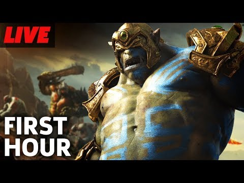 Extinction The First Hour Live Gameplay