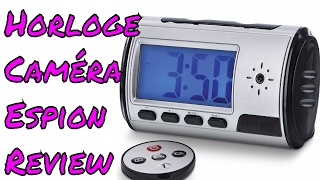Horloge Camera Espion Cadran Digital Enregistreur Numerique HD Camera Cachee Review ThinkU ...