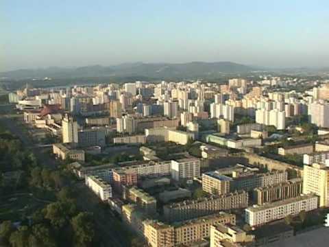 Tower of Juche Idea - Pyongyang, North Korea (September 2009)